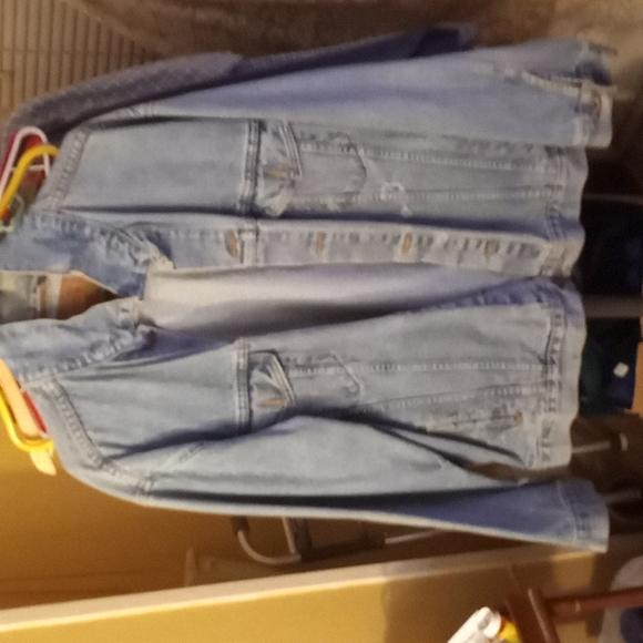Levi's Blue Jean Jacket XL great shape gently used